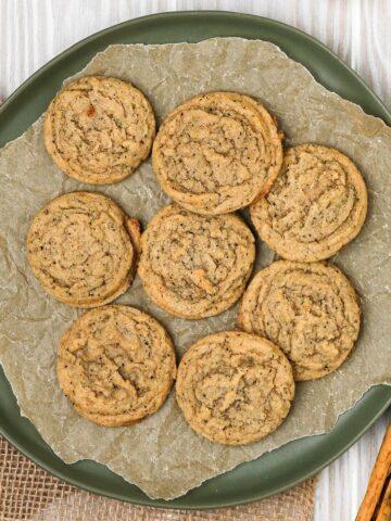 featured brown sugar chai cookies photo